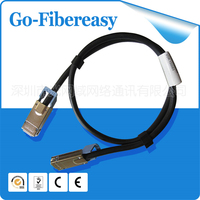 Novos produtos de Fibra óptica Conjunto de Cabo CX4 para CX4 Inifinband, 10G 1 Metro 1 pcs