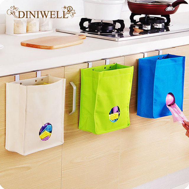 cleaning kitchen cabinet doors.  Kitchen Oxford Folding Hold Cleaning Kitchen Cabinets Door Back Garbage Bags  Storage Pockets Hanging Debris Finishing On Cabinet Doors D