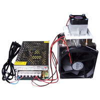 12V 10A Electronic Refrigerator Production Kit DIY Semiconductor Refrigeration Chip Radiator Dehumidification With 220V EU Power
