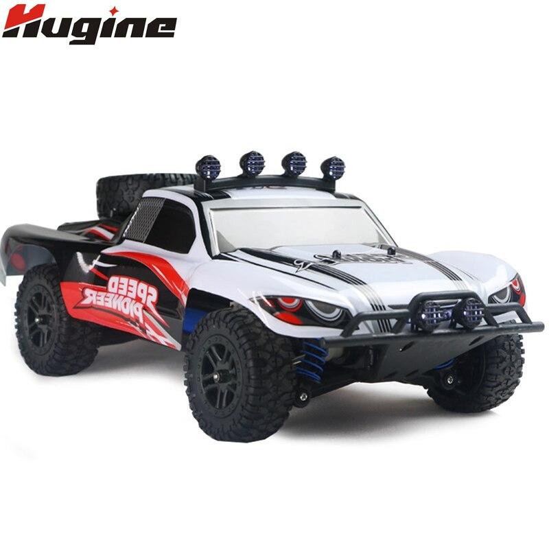 купить RC Car 4WD 45km/h Full Proportion High Speed Drift 2.4G Monster Truck Remote Control BigFoot Buggy Off-Road SUV Electronic Toys по цене 2780.28 рублей