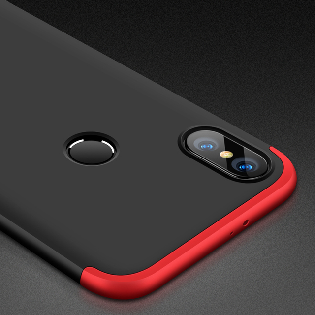 online store 054f4 c16a2 US $3.37 25% OFF|For Xiaomi Redmi Note5 Case 360 Full Protection Fashion  Matte Phone Cover Hard Case For Redmi Note5 Pro Anti knock-in Fitted Cases  ...