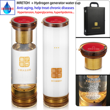 Wireless transmission MRET OH and Hydrogen Generator Ionizer For Pure H2 alkaline water ionizer Quality assurance for 3 years 220v oh 806 3h alkaline hydrogen water ionizer with 3 plates