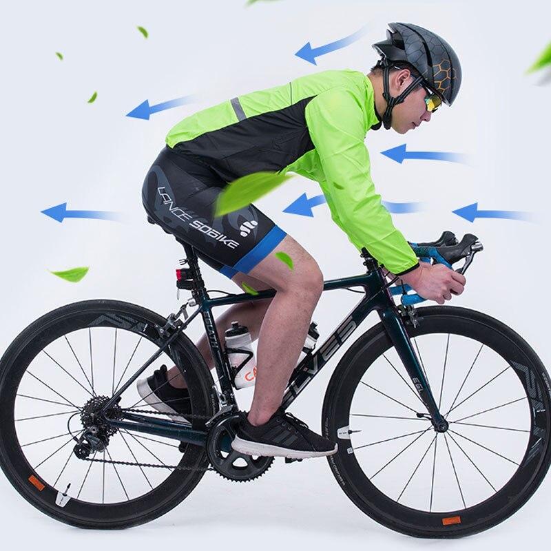 Image 5 - ROCKBROS Cycling Bike Jersey Man Jacket Windproof Quick Dry Breathable Bike Rain Coat Mtb Jersey Motocross Cycling Clothes ShirtCycling Jerseys   -