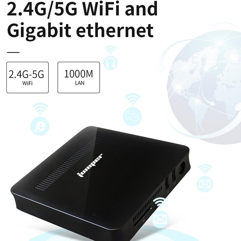 Jumper EZbox Z8 Mini PC Intel Atom X5-Z8350 1.44Ghz 2GB/32GB Windows 10 Mini Computer 2.4G/5G WiFi 1000M LAN HDMI VGA output