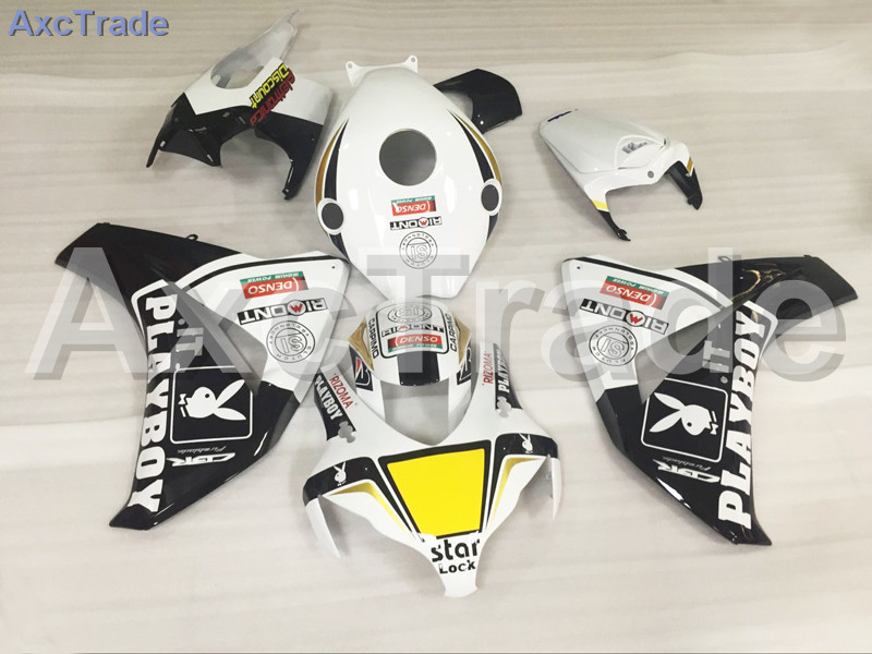 Motorcycle Fairings For Honda CBR1000RR CBR1000 CBR 1000 RR 2008 2009 2010 2011 ABS Plastic Injection Fairing Bodywork Kit White arashi motorcycle radiator grille protective cover grill guard protector for 2008 2009 2010 2011 honda cbr1000rr cbr 1000 rr