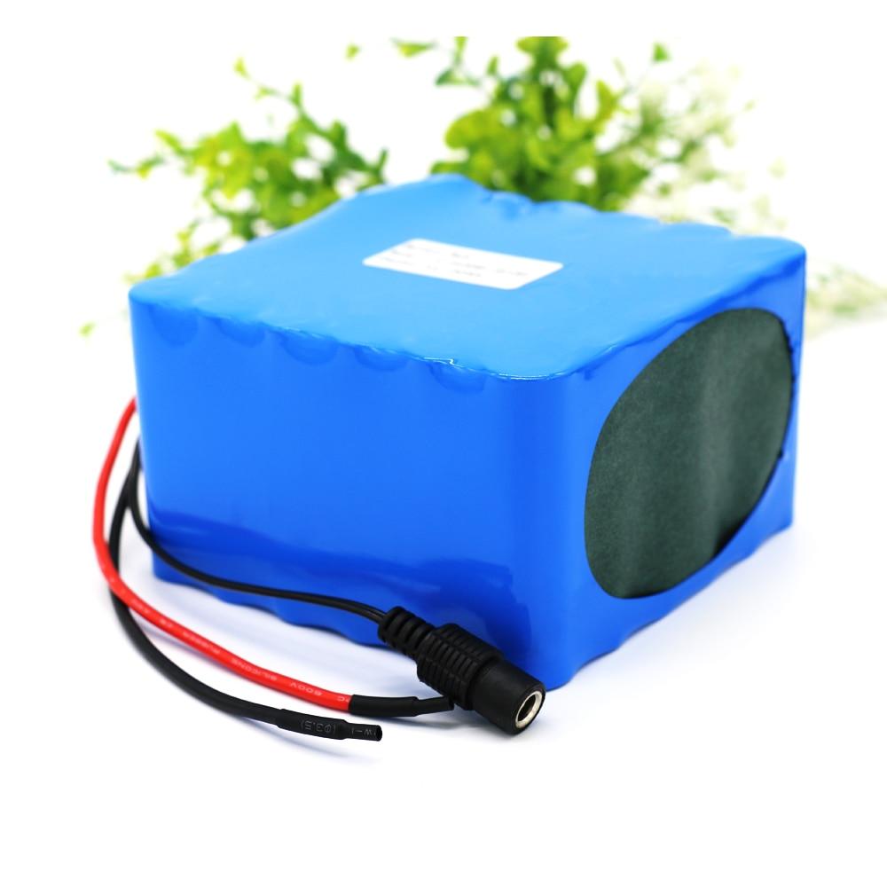 Batterie au Lithium-Ion KLUOSI 12 V haute puissance 3S12P 11.1V12.6V25Ah avec Balance 60A BMS pour onduleur/voiture de tourisme