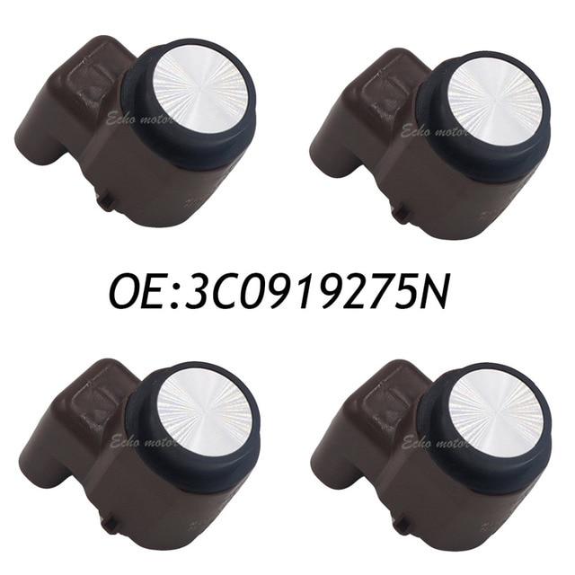 New 4pcs 3C0919275N PDC Parking Sensor VW Passat B6 Golf 5 Jetta Touran 3C0919275 3C0919275B