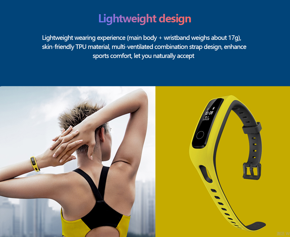 Presale Original Huawei Honor Band 4 Running Version Touchscreen Smart Wristband (16)