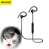 Awei A620BL Wireless Headphone Bluetooth Earphone With Mic In Ear Sports Music Earbuds Hi Fi Bass