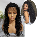 Brazilian Virgin Human Hair Glueless Full Lace Wigs Curly Wig Lace Front Human Hair Wigs With Baby Hair Kinky Curly For Woman