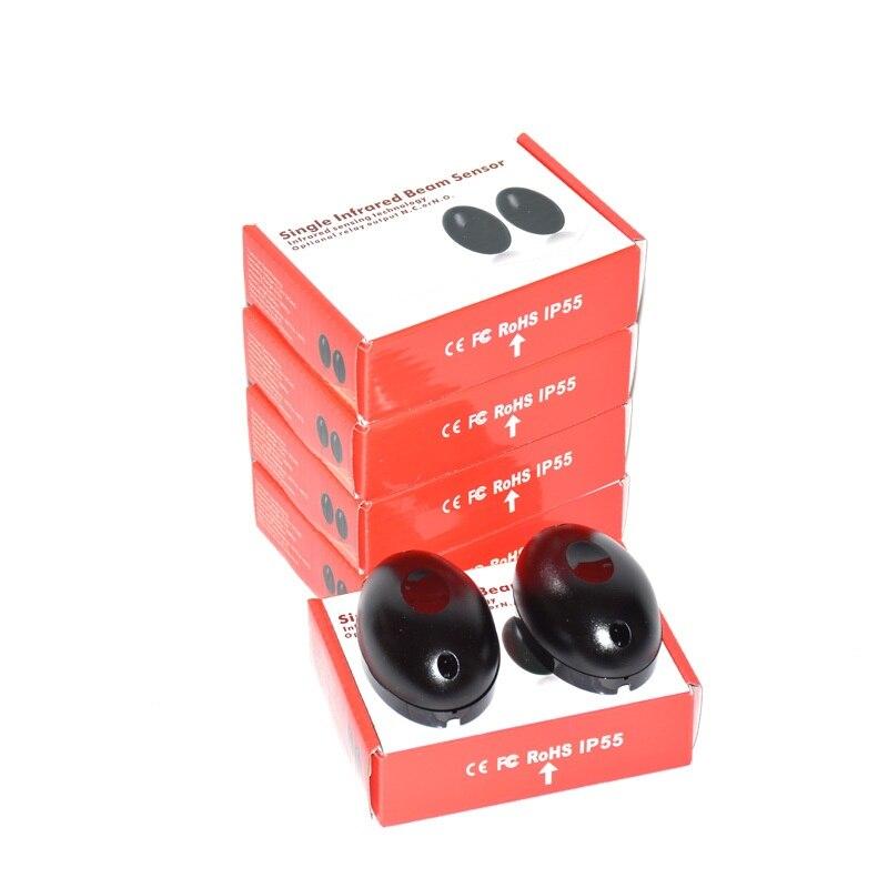 ip55 10 conjuntos exteriores fotocelulas universais feixe de seguranca infravermelho para a automatizacao da porta fotocelulas
