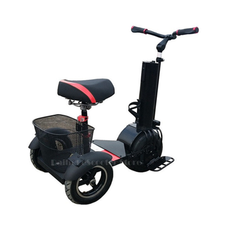3 Wheel Scooter For Adults >> Us 1167 56 28 Off Daibot 3 Wheel Electric Scooter Self Balancing Scooters 10 Inch 500w 60v One Wheel Electric Unicycle Scooter For Adults In Self