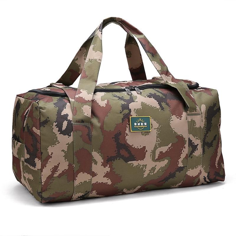 Large Multi-Function Camouflage Sport Bag Men Women Fitness Gym Bag Waterproof Outdoor Travel Sports Tote Shoulder Bags
