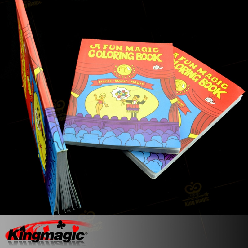 magic book mini size 137103 multicolour magic tricks cartoon book child magic props - A Fun Magic Coloring Book