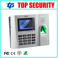 Free shipping TCP/IP USB U260 fingerprint time attendance time clock with webserver function biometric finger time recorder