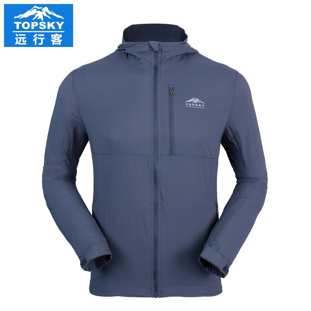 2016 Topsky outdoor ultralight coat quick dry skin font b jacket b font breathable hoodies font