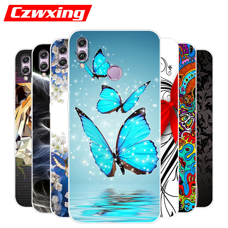 Honor 8X Case JSN-L21 Silicone TPU Cover 6.5 Phone For Huawei JSN-L22 JSN L21 Honor8X