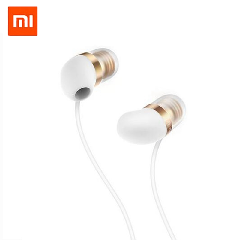 New Original Xiaomi Piston Air Earphone with Mic Piston Capsule Earphones Remote Silicon Earpiece In-Ear for Mobile Phones