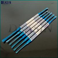 1 set 6 pcs Dental instruments Dental implant flap Periosteum separator Periosteal exfoliator dentist tools