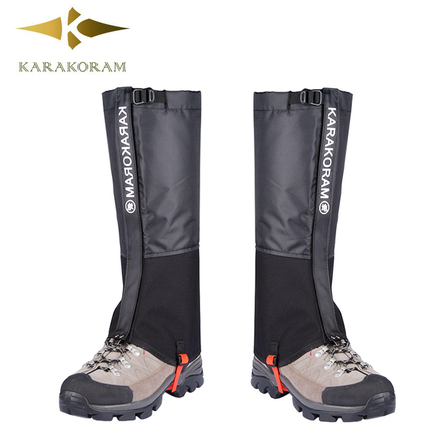 Ultralight Outdoor Waterproof Hiking Gaiters Shoes Cover Legwarmer Climbing Snow Leggings Ice Desert Trail Trekking Boots Gaiter