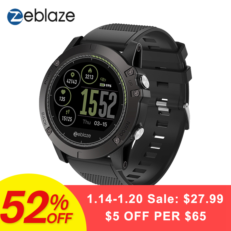 Neue Zeblaze VIBE 3 HR Smartwatch IP67 Wasserdichte Tragbare Gerät Herz Rate Monitor IPS Farbe Display Sport Smart Uhr