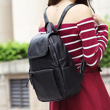 Стейси мешок 052716 хорошее качество горячей продажи леди PU кожа рюкзак женский сумка