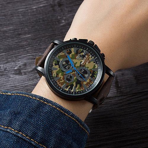 YAZOLE Camouflage Quartz Watch Women Watches Ladies Brand New Wristwatches For Female Wrist Clock Montre Femme Relogio Feminino yazole simple quartz watch women 2016 brand wristwatch female clock wrist watch lady quartz watch montre femme relogio feminino
