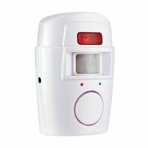 Image 2 - IR czujnik ruchu na podczerwień bezprzewodowy zdalnie sterowany mini budzik 105dB głośna syrena dla bezpieczeństwo w domu Anti Theft