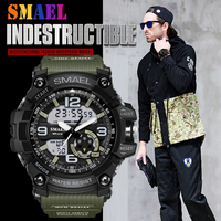 Sport Watches Men Military Army Mens Watch Reloj Led Digital Sports Wristwatch Male Gift Analog S Shock Automatic Watches Male