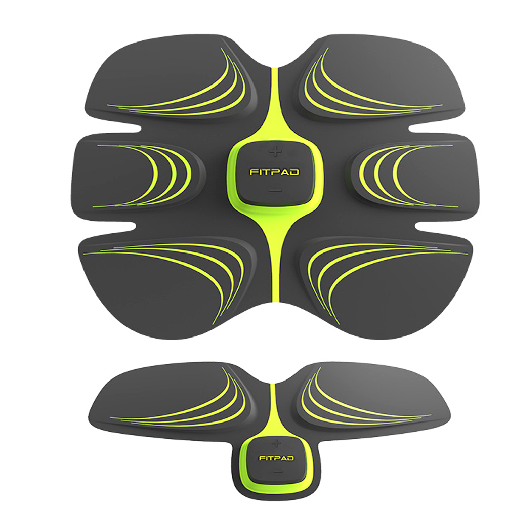 Fitpad Multi-Function EMS abs stimulator Hous abdominal exercise body slimming muscle intensive training Loss Slimming Massager smart abs fit training multi function ems abdominal exercise hous abdominal muscles intensive training loss slimming massager