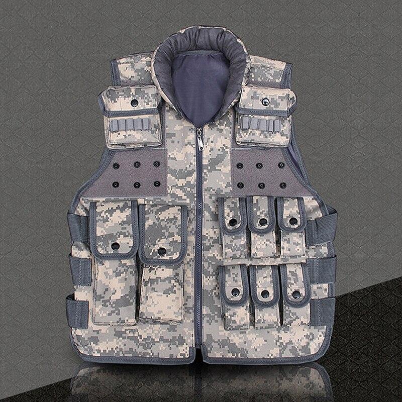 Vêtements pour hommes marque décontracté Style militaire classé activités Camouflage hommes gilet avec multi-poche gilets tactiques trois couleurs