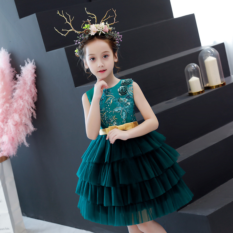 2019 New Fashion Children Girls Embroidery Princess Dress Kids Dresses For Girls Wedding Party Toddler Girl Clothes Vestidos S512019 New Fashion Children Girls Embroidery Princess Dress Kids Dresses For Girls Wedding Party Toddler Girl Clothes Vestidos S51