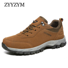 ZYYZYM Outdoor Men Shoes Non-Slip Flats Trainers Comfortable Big Size Casual For Man