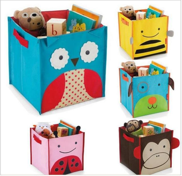 Skp Foldable Baby Toy Storage Box Zoo Bins Five Animals Can Choose The Style