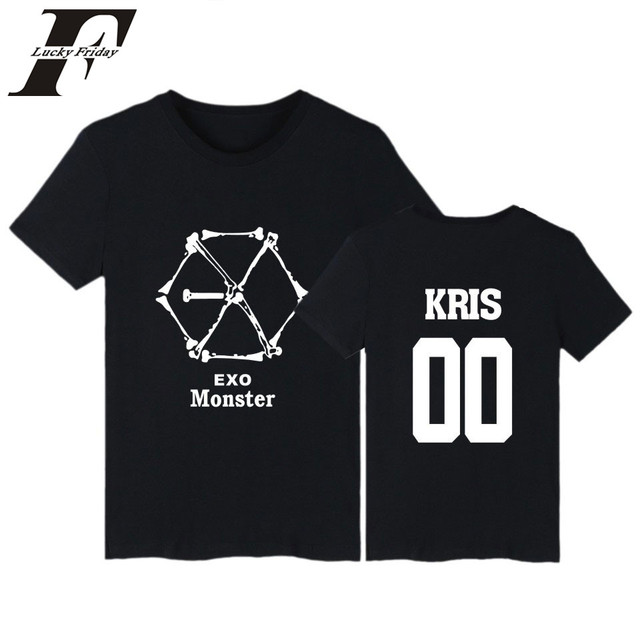 Aliexpress.com : Buy EXO Monster Funny Printed T Shirt Men Short ...