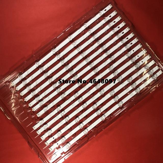 14 PCS/set LED backlight strip bar LZ55O1LCEPWA A B for LG 55 inch TV 55LN5400 55LN5200 INNOTEK POLA2.0 55 R L type