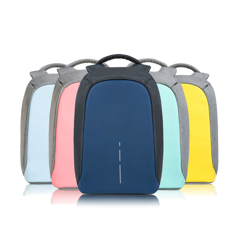 2017 true with security code multi function big capacity light luxury series of anti-theft backpack back-up Five color jsd 50s series of multi wing fan 4p