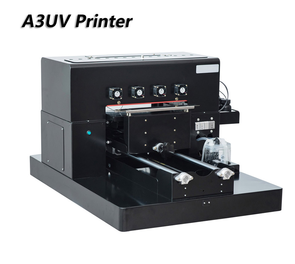 High Quality A3 Size LED UV Printer Flatbed 6 Colors Water Air System Leather CD phone Case Windows USB UV PrintersHigh Quality A3 Size LED UV Printer Flatbed 6 Colors Water Air System Leather CD phone Case Windows USB UV Printers