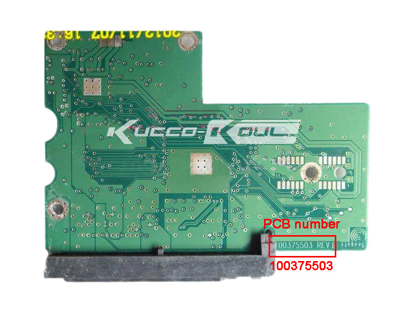 hard drive parts PCB logic board printed circuit board 100375503 for Seagate 3.5 SATA hdd hard drive repair ST3402111AS