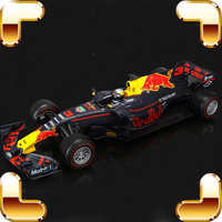 Новые роскошные коллекции подарок формула rb13 1/18 большой металлической модель Racer автомобилей сплава литья под давлением Игрушечные лошадк