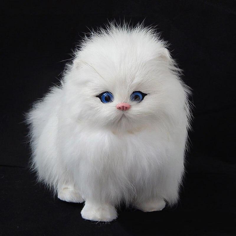 ცხელი გაყიდვა kawaii კატა Plush - პლუშები სათამაშოები - ფოტო 3