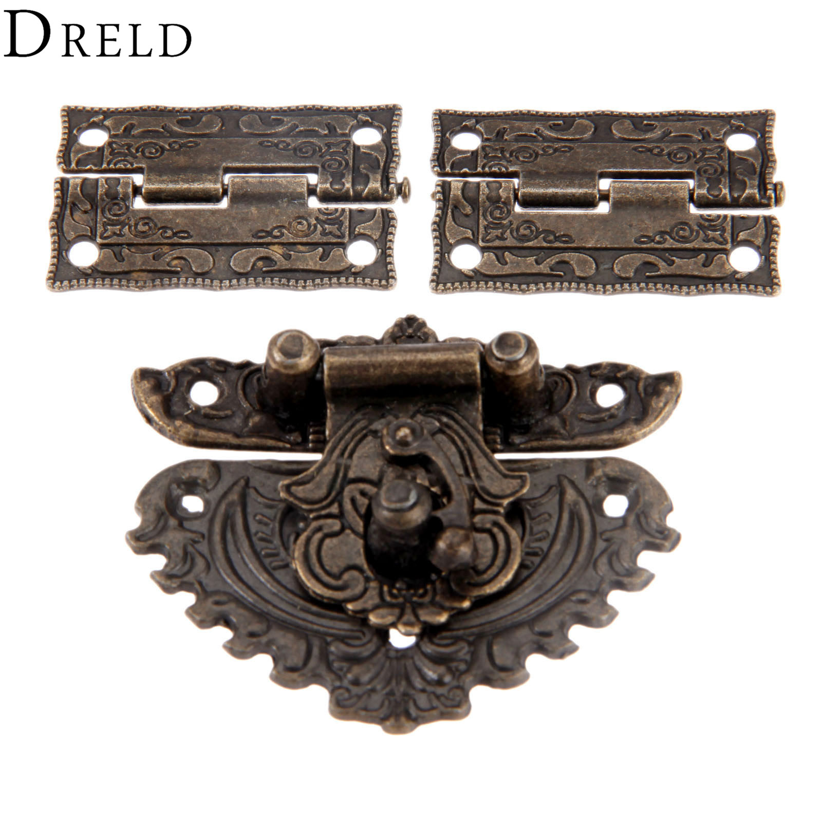 dreld-antique-bronze-furniture-hardware-box-latch-hasp-toggle-buckle-2pcs-decorative-cabinet-hinges-for-jewelry-wooden-box