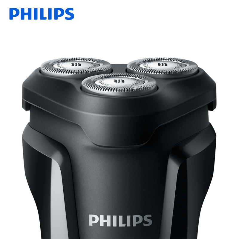 Image 2 - Philips Electric Shaver S1010 Rotary Rechargeable Body Wash With Triple Floating Blades For Men's Electric Razor With Indictor-in Electric Shavers from Home Appliances