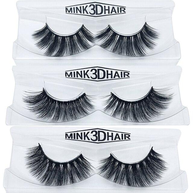 Eyelashes 3D mink eyelashes long lasting mink lashes natural dramatic volume eyelashes extension false eyelashes