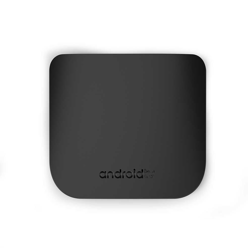 Mecool M8S Plus W Mini Ultra Tipis Smart Android TV Box Android 7.1 HD Penuh 4K 2.4G akses Internet Nirkabel Bluetooth 2GB 16GB Set Top Box