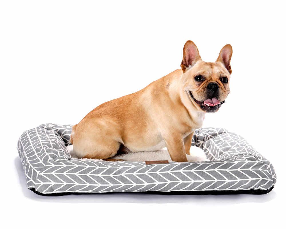 Rectángulo pequeño forma cómoda Jaula//Jaula Mascota Gato Perro Polar Cojín Cojín Estera