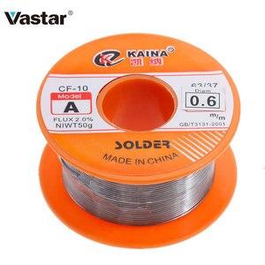 Image 1 - Vastar 0.6/0.8/1/1 2/1.5 มม.ฟลักซ์ 63/37 1.2% / 2.0% 45FTดีบุกดีบุกลวดดีบุกละลายRosin Core Soldering Wire ROLL