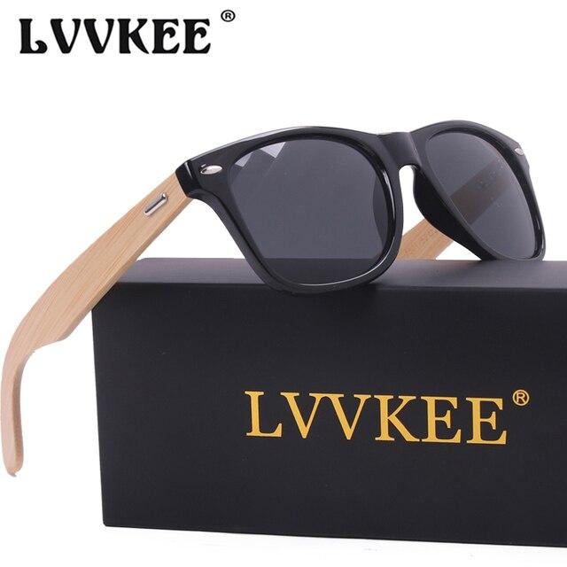 LVVKEE Top quality Brand Design Classic Rivet wood Mens/Womens sunglasses handmade bamboo Outdoors traveling sun glasses UV400