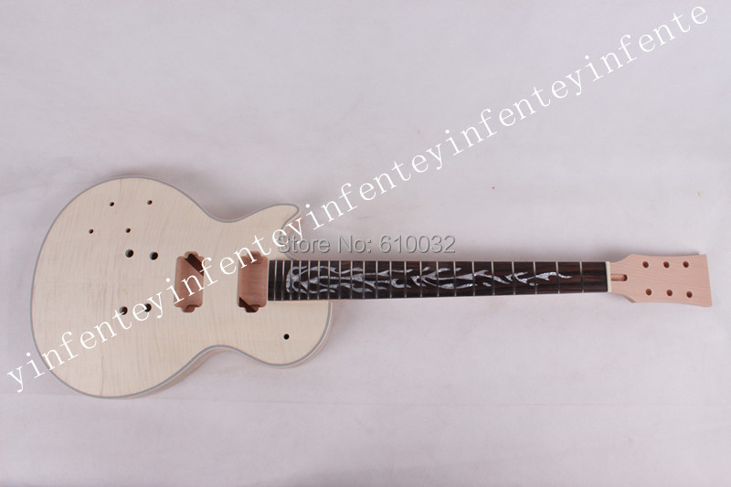 ONE set LP guitar neck and body mahogany made rose wood fingerboard electric G 2-9# купить