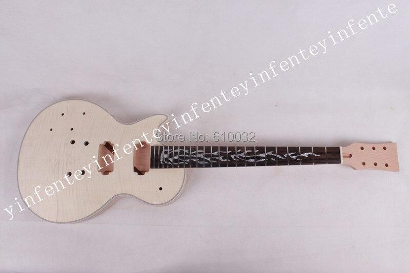 UN set LP chitarra collo e il corpo in mogano fatta tastiera in legno di rosa elettrico G 2-9 #UN set LP chitarra collo e il corpo in mogano fatta tastiera in legno di rosa elettrico G 2-9 #